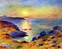 Coucher de soleil sur DZ par Pierre-Auguste Renoir